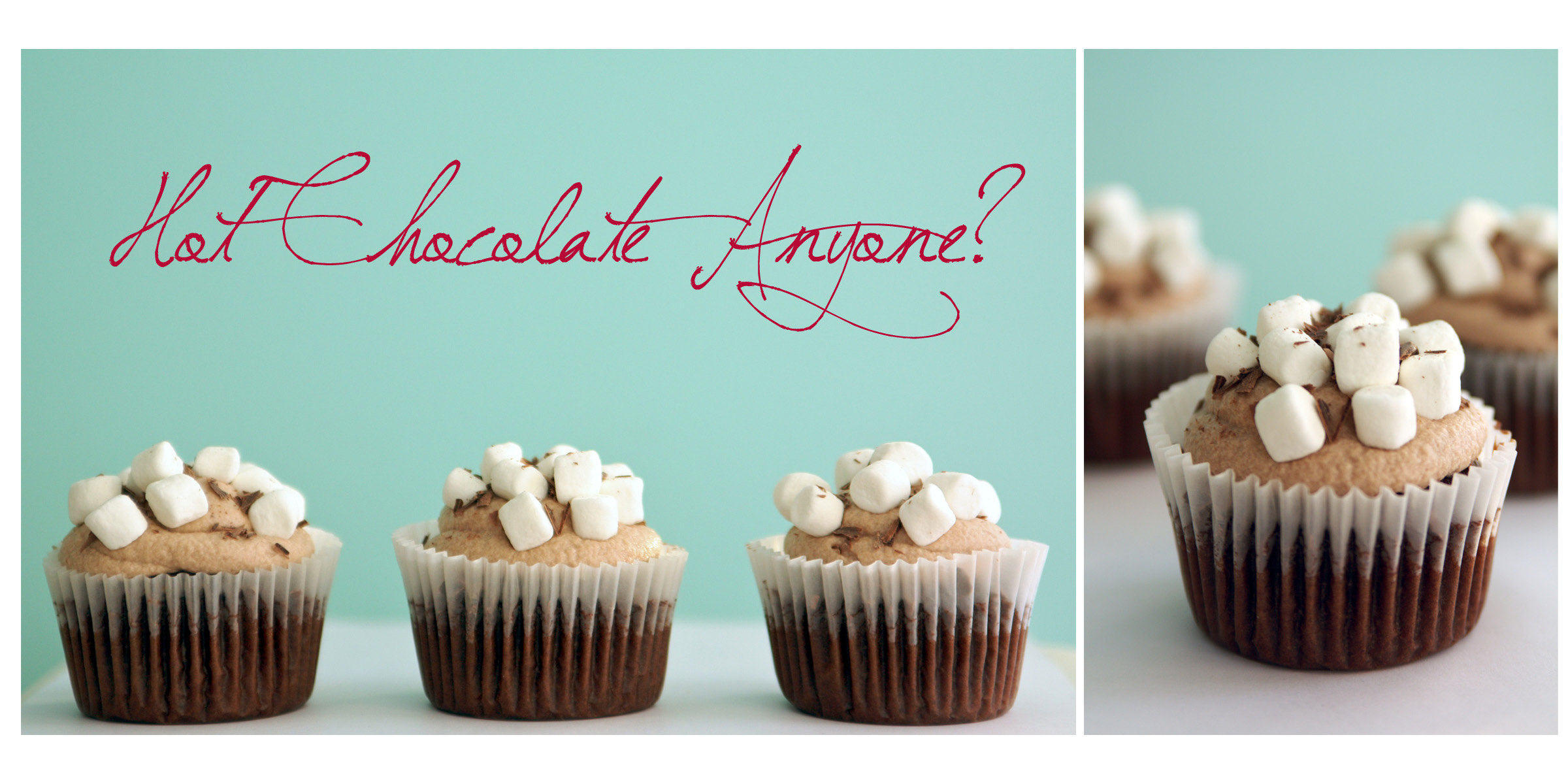 Hot Chocolate Cupcakes | Sweet Little Details