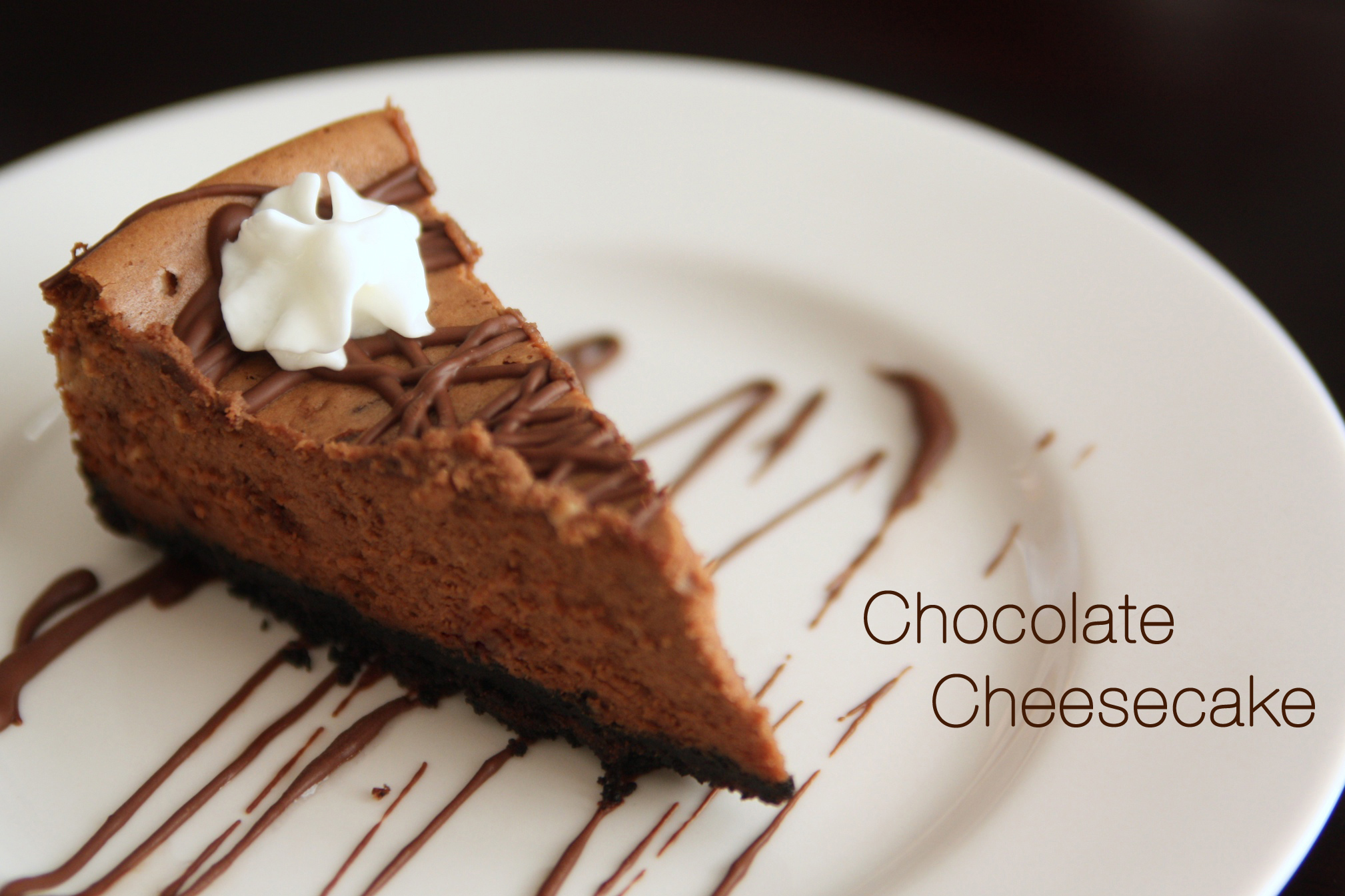Chocolate Cheesecake | Sweet Little Details