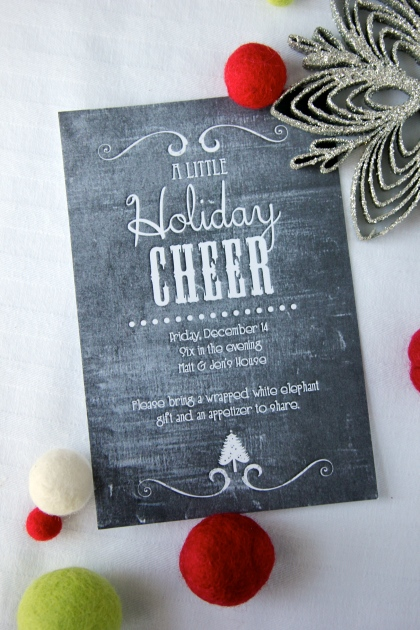 Christmas Party Invites