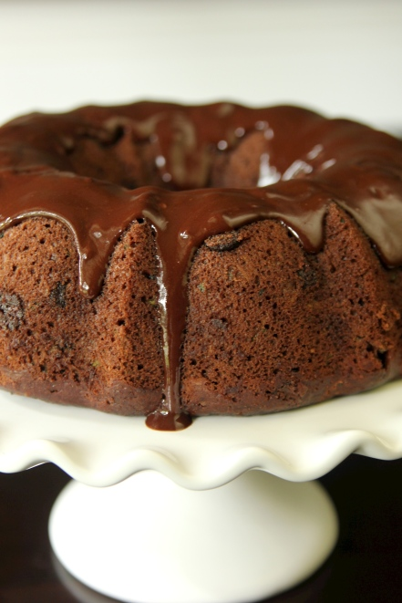 Chocolate Zucchini Bunt Cake