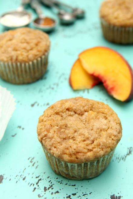 Peach Crumb Muffins 2